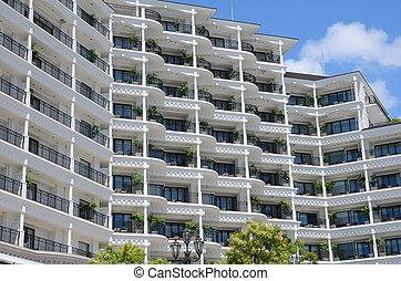 edificio, apartamento