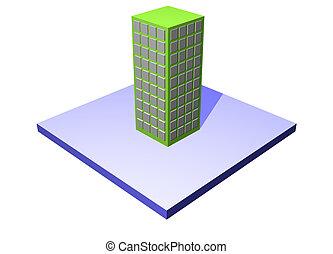 edificio, cadena, empresa / negocio, suministro, serie, -,...