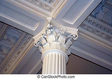 edificio, capitolio, céntrico, estado, tejas, austin