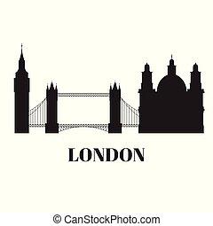 edificio, ciudad, grande, unido, viaje, england., reino,...