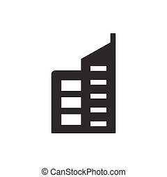 edificio comercial, icono