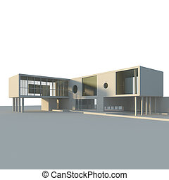 edificio, concepto