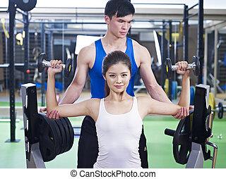 edificio cuerpo, ejercicio
