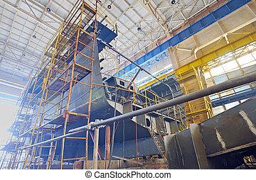 edificio de la nave
