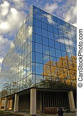 edificio de oficinas, detalles