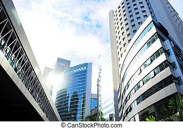 edificio de oficinas, en, kl
