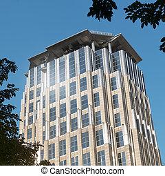 edificio de oficinas, en, makati, manila, -, filipinas