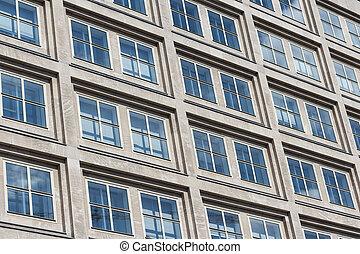 edificio di appartamenti, esterno, -, casa, facciata