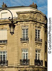 edificio di appartamenti, reims, francia