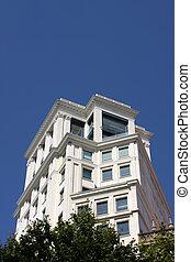 edificio, en, barcelona
