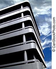 edificio, esquina