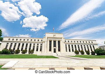edificio, estados unidos de américa, federal, washington dc,...