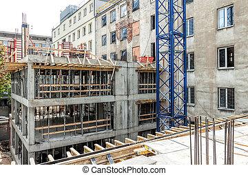 edificio, estructura