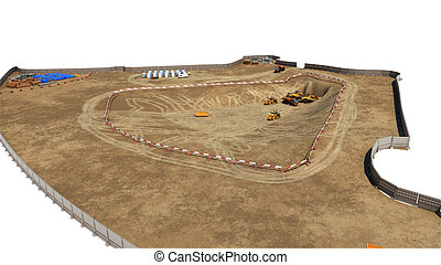 edificio, fundación, concreto, construcción, plano de fondo...