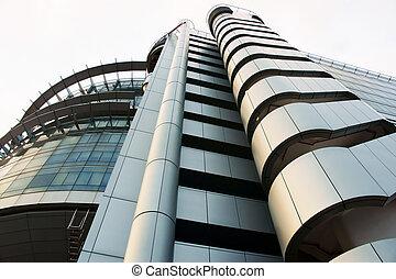 edificio, futurista