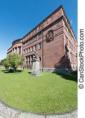 edificio, germany), universidad, (sw, freiburg