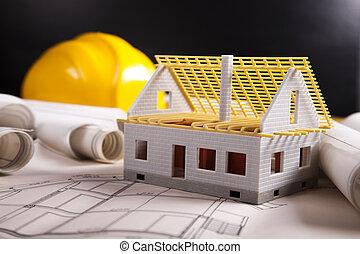 edificio, hogar