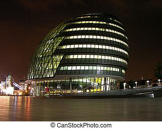 edificio, moderno, londres