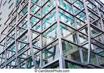 edificio moderno, primer plano