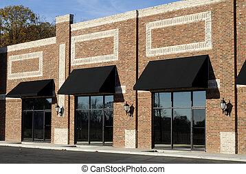 edificio, nuevo, commercial-retail-office