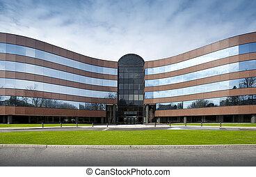 edificio, oficina