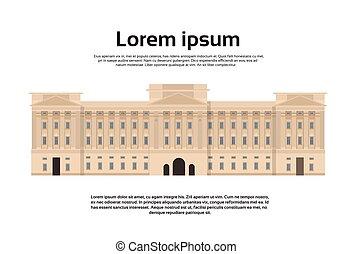 edificio, parlamento, palacio, abadía, westminster, londres
