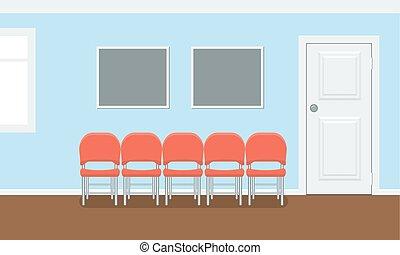 edificio, plano, habitación, oficina., dental, stomatology,...