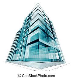 edificio, proyecto