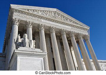 edificio, supremo, tribunal