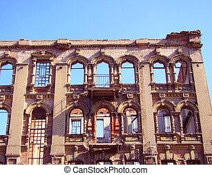 edificio, viejo