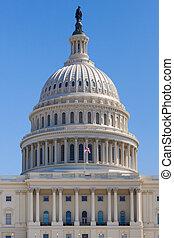 edificio,  Washington, capitolio, nosotros, CC