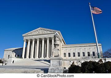 edificio, washington, tribunal supremo, cc