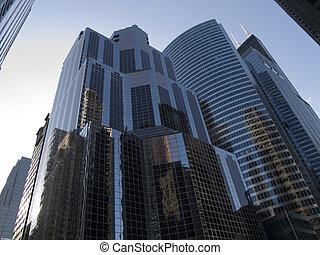 edificios, chicago