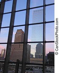 edificios, empresa / negocio, windows, reflexiones, nuevo,...