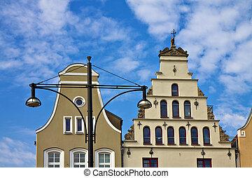 edificios, (germany)., rostock, histórico