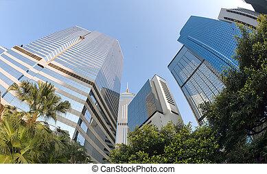 edificios, highrise