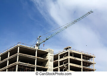 edificios, ser, construido