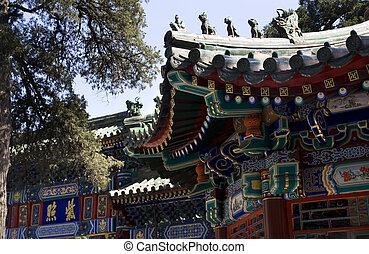 edificios, templo, beihai