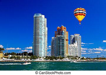 edificios, torre