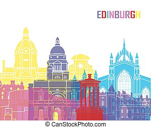 edimbourg, horizon, pop