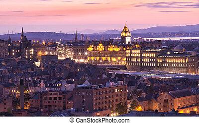Edinburg Twilight