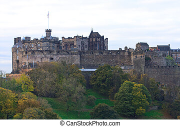 Edinburgh Castle Close Up