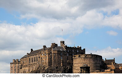Edinburgh Castle. Scotland. UK.
