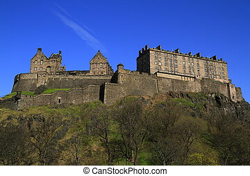 Edinburgh castle, Scotland, United Kingdom