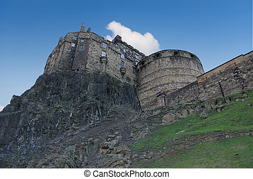 Edinburgh Castle side view