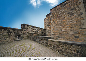 Edinburgh Castle Walls