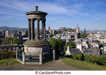 Edinburgh City And Castle