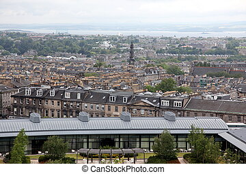 Edinburgh from Calton Hill , UK