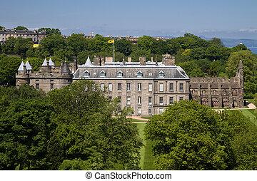 edinburgh, holyrood, dom