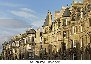 Edinburgh Real Estate - A beautiful row of Victorian...